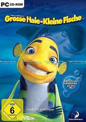 GROSSE HAIE - KLEINE FISCHE Spiel zum Film PC NEU/OVP (Spiel Hai Spiele)