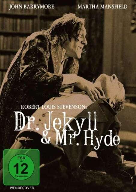 DR. JEKYLL and & MR. HYDE 1920 John Barrymore & Martha Mansfield DVD NEU Mister