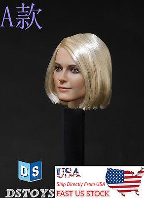"DSTOYS D-OO1 1/6 Scale Woman Head Sculpt Model For 12"" Female Body Toy In stock"