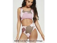 Sik silk swimsuit