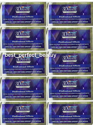 Crest 3D White Whitestrips Luxe Professional Effects 10 POUCH 20 STRIPS New on Rummage