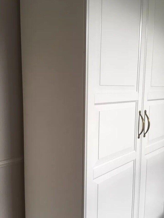 Oryginał PAX frame x TYSSEDAL doors, IKEA Wardrobe | in Mile End TG86