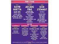 X2 Isle of Wight festival VIP tickets