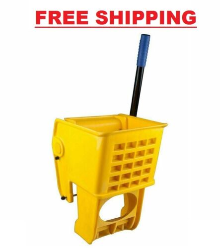 Yellow Replacement Mop Bucket Side Press Wringer for 35 Qt. Mop Bucket