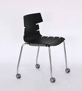 Stylish @ durable caster stacking chair Lane Cove West Lane Cove Area Preview