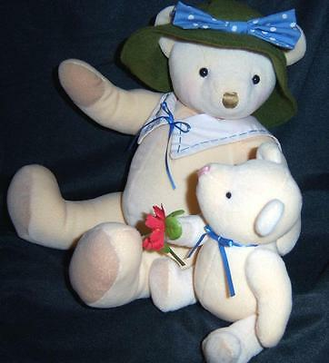 Hallmark Mom Baby Child BEARs Doll TOY Plush stuffed Animals Annabelle Christmas