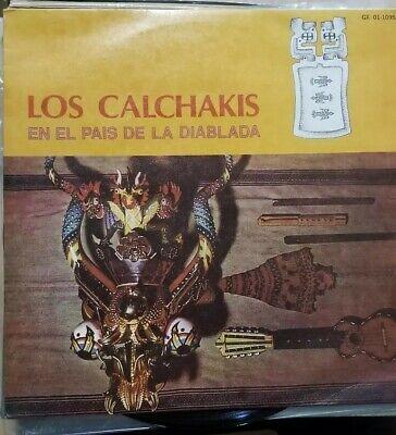 Los Calchakis - En El Pais De La Diablada LP Gamma GX01-1095 Andean Folk (El Pais Mexico)
