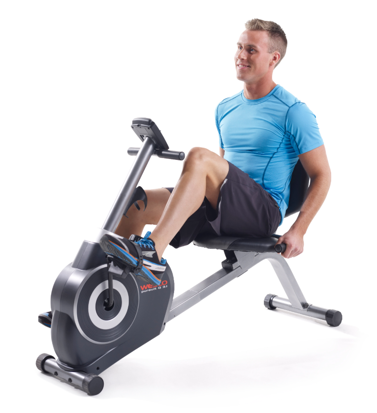 Recumbent Exercise Bike Stationary For Adults Home Gym Fitne