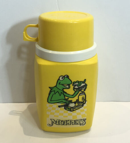 1980's The Muppets Thermos Flask