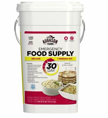 Augason Farms Emergency Food Bucket Deluxe 30 Day Supply Pail Survival Storage (Storage Buckets)