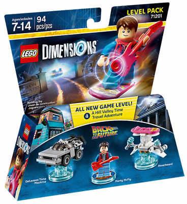 NEU LEGO® DIMENSIONS 71201 Marty Hoverboards DeLorean Zurück in die Zukunft NEU