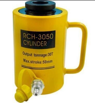 Hydraulic Hollow Hole Cylinder Jack Ram 30 Tons Industrial Bi
