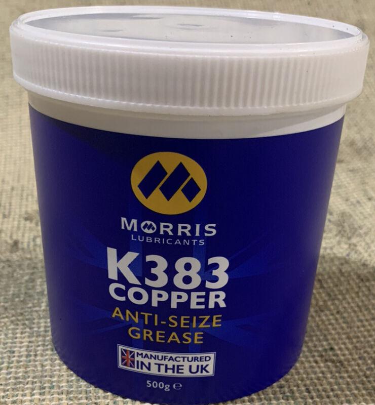 Morris+copper+grease+K383+500g