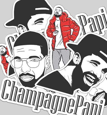 Drake -Rapper- Stickers - Set