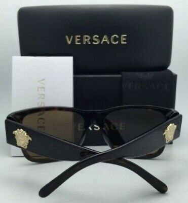 Authentic VERSACE Sunglasses VE4275 POLARIZED Tortoise with Brown