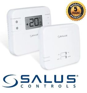 Salus RT310RF Wireless Radio Frequency Thermostat Heating Control PLUG AND PLAY