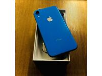 IPhone XR (64GB - Unlocked) blue