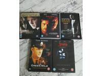 5 DVD'S for sale all original and boxed