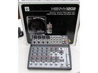 BEHRINGER XENYX 1202 MIXER in perfect condition.