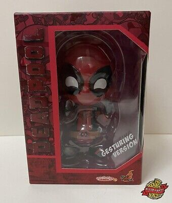 "COSBABY - HOT TOYS DEADPOOL ""GESTURING VERSION"" BRAND NEW"