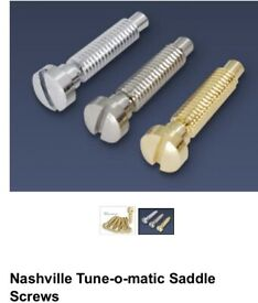Bridge screws for Nashville or abr-1 bridges