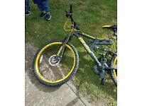 """Two 26"""" mountain bikes"""