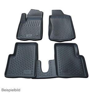 TAPPETINI-IN-GOMMA-GOMMINO-Tappetini-Volkswagen-Caddy-dal-2004-2-pezzi-ant