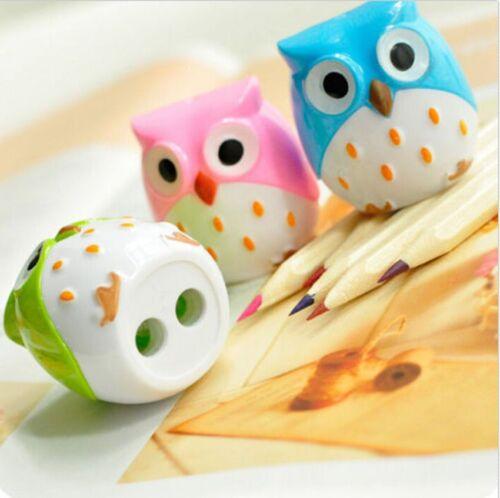 Mini Lovely Cute Owl Pattern Pencil Sharpener ...