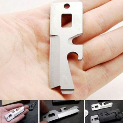 5 in 1 Stainless EDC Pocket Camping Survival Multi Tools Scr
