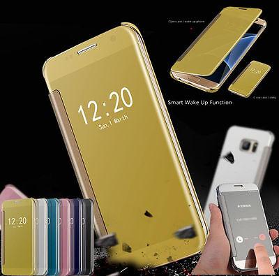 Slim Mirror Smart View Flip Protective Case Cover For Samsung Galaxy S8 S8 (Slim Mirror)