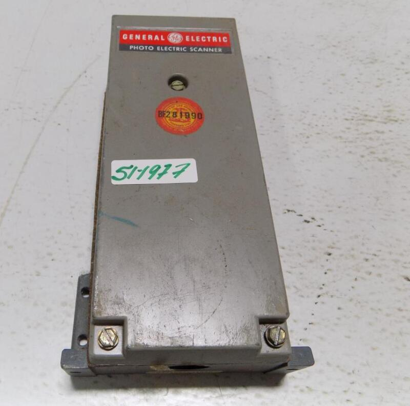 GENERAL ELECTRIC PHOTO ELECTRIC SCANNER 3S7505PS510E6
