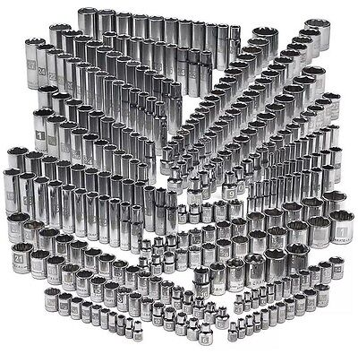 Craftsman 299-piece Ultimate Easy Read Deep Standard SAE Metric Socket Set NEW!!
