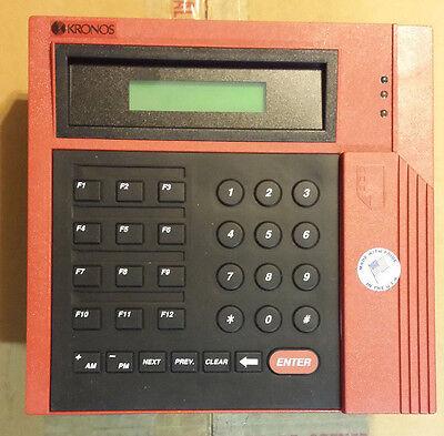 Kronos Series 400 Model 460f Timeclock Terminal
