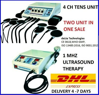 Brand New Electrotherapy Ultrasound Therapy Combination Therapy Unit Pain Relief
