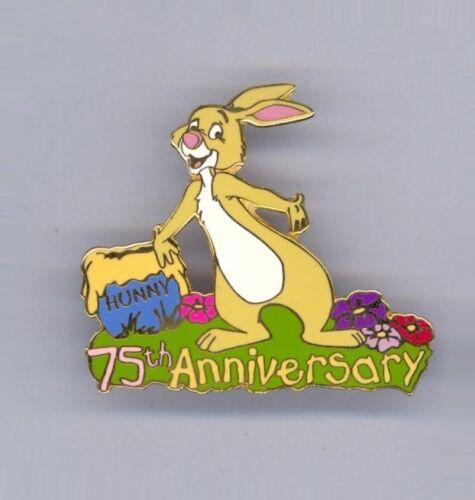 Disney Auctions 75th Winnie the Pooh friend Rabbit Hunny Pot LE 100 Pin HTF
