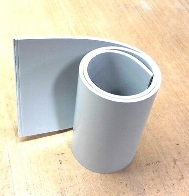 Silicone Rubber Sheet 14thk X 4 X 12 Rect Pad Us Mil Spec 60 Duro Gray
