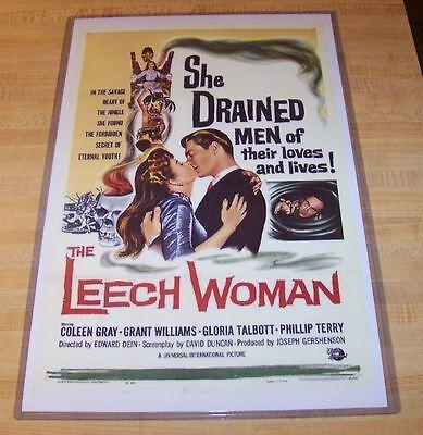 The Leech Woman 11X17 Universal Movie Poster