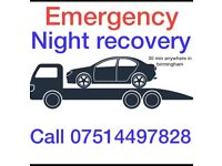 Night recovery available only call 07514 497828