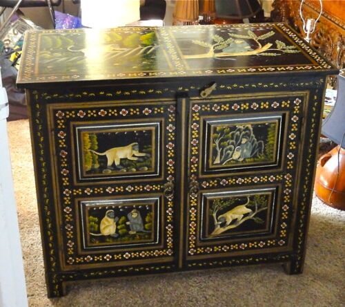 Hand Crafted Chest from India