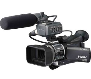 sony hvr a1e camcorder mini dv hdv hd pro high definition