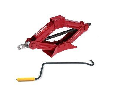 1 Ton Tonne Wind Up Scissor Jack For Car Van Truck Wheel Change W/I Handle Home](Scissor Handles)