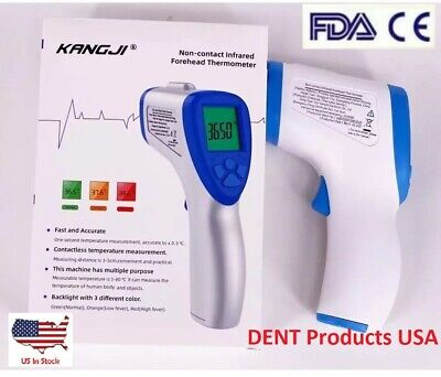 Infrared Digital Thermometer Body Forehead Ear Body Temperature Gun Non-contact