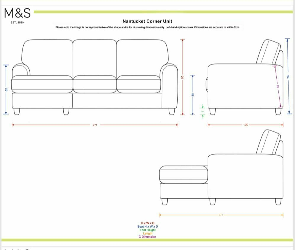 Marvelous Ms Nantucket Small Corner Sofa For Sale Purchased New Four Years Ago In Hampton London Gumtree Pdpeps Interior Chair Design Pdpepsorg