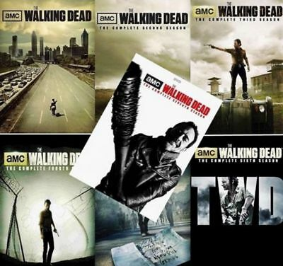 The Walking Dead  Complete Series All Season 1 7 Dvd Collection Set