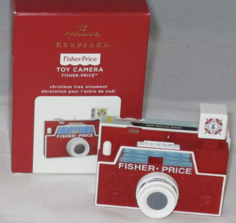 2020 Hallmark Fisher Price Toy Camera (NEW)