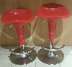 Stylish Modern Design Swivel Bar Stools - AS NEW Casula Liverpool Area Preview