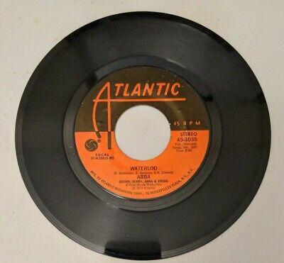 """Waterloo"" - [ Single] by ABBA (45-RPM, 1974, Atlantic)"