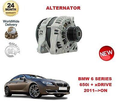 FOR BMW 6 SERIES F12 F13 F06 650i + xDRIVE 2011 >ON ALTERNATOR UNIT 6 Series Alternator