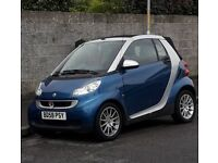 Smart Fortwo Passion Cabriolet Convertible 2009 (58 plate) for sale