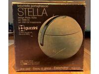 Vintage 1970s Guzzini Ice Bucket - Paola Tilche STELLA